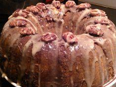 Apple Pecan Caramel Cake
