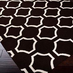 Connect the Dots Dhurrie Rug:  3 Colors