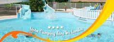 Camping 4 étoiles en Aquitaine - 2315 Route de Langeot 40460 SANGUINET - www.lou-broustaricq.com - 05.58.82.74.82 www.facebook.com/camping.lou.broustaricq.landes
