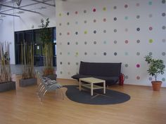Oddychová zóna - bodkovaná stena Relax, Home Decor, Homemade Home Decor, Interior Design, Home Interiors, Decoration Home, Home Decoration, Home Improvement