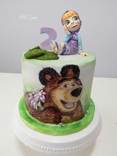 Masha and the bear  by MOLI Cakes