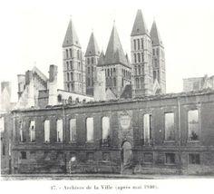 fr la perte totale des archives de Tournai 1940
