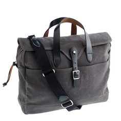 New affordable man bag for the fall from J. Crew. Yessssss, this is perfect!  Abingdon laptop bag