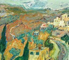 Eliahu Gat (Hebrew: אליהו גת; born 1919, died 1987) was an Israeli landscape painter.