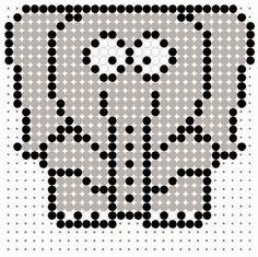 Hama Beads Elephant grille