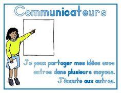 IB PYP Learner Profile - French Learner Profile, French, Memes, Poster, Ib Learner Profile, French People, Meme, French Language, France