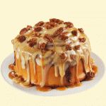 What has 1000+ calories and 50 grams of sugar? This caramel-pecan covered gut-buster from Cinnabon. Ouch!