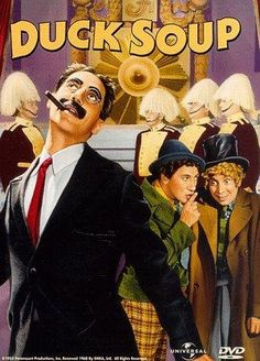 Duck Soup. Funny old movie.