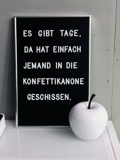 Letter board with a funny saying - There are days when Buchstabentafel mit lustigem Spruch – Es gibt Tage, da hat einfach jemand in die… Letter board with a funny saying – There are days when someone just shit in the confetti cannon … - Funny Quotes About Life, Quotes About Moving On, Life Quotes, Quotes Quotes, Family Quotes, Positive Quotes, Motivational Quotes, Inspirational Quotes, Cute Text