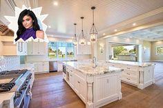 Kylie Jenner - Stunning Celebrity Kitchens - Photos