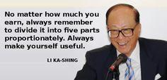 Li Ka-Shing teaches you how to buy a car & house in 5 years - Yahoo News Singapore