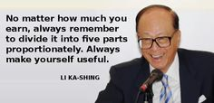 Li Ka-Shing teaches you how to buy a car & house in 5 years - Yahoo News Singapore