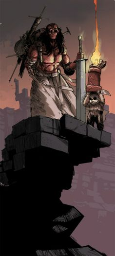 Multiversity Comics » 31 Days of Hellboy: All of the Pieces in One Place [Art Feature]