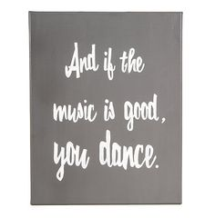 And if the music is good, you dance.  on Etsy, $46.00