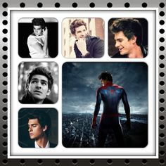 Andrew Garfield. he is a cutie pie, especially in spider-man:) cute/goofy/dorky :)