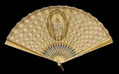 Fan Department Store: Tiffany & Co. (1837–present) Date: 1900–1915 Culture: French Medium: Ivory, silk, sequins, metal