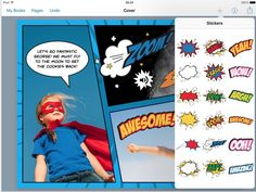 New- Book Creator Released A Wonderful Feature for Creating Comic eBooks for Your Class ~ Educational Technology and Mobile Learning Comic Book Template, Apps For Teachers, Ipad, Book Creator, Web Design Tips, Mobile Learning, How To Make Comics, Teacher Tools, Educational Technology
