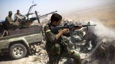 EPIC FOOTAGE: Kurds Fight Off ISIS Militants in Firefight Near Turkey Border  http://madworldnews.com/kurds-isis-firefight-turkey/