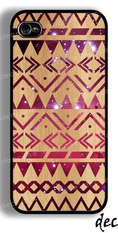 Aztec wood Iphone Case