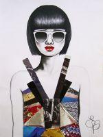 Serie Moda Collage Tav#8 by EVanillaArt