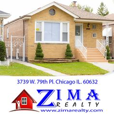 3739 W. 79th Pl. Chicago, IL. 60652 Gorgeous Homes For-Sale in Chicago