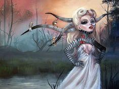 Fantasy Illustrations by Kurtis Rykovich | Photo Vide