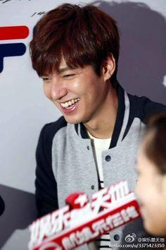 Lee Min Ho | Anna Sui Press Con for Fila Launch 02.14.14
