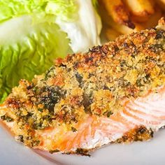 (Recipe by Kimberly) 1/4 cup macadamin nuts 1/4 fresh cilantro leaves 4 TBLS Butter, at room temp, divided 1 teaspoon grated lemon rind 1 2 1/2 # salmon fillet salt & pepper 1 TBLS fresh lemon …