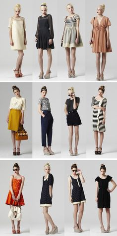 Orla Kiely. I like the dresses and skirts minus the shoes.