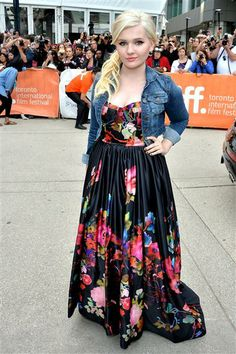 "Abigail Breslin arrives at the ""August: Osage County"" premiere during the Toronto International Film Festival at TIFF Bell Lightbox in Toronto on Sept. 9, 2013."