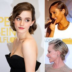 3 ways to dress up short hair