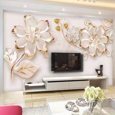 3d stereo kabartma çiçekler fotoğraf duvar kağıdı modern basit mermer doku 3d mural oturma odası moda İç dekor duvar kağıdı rulo(China (Mainland))