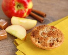 Caramel Apple Mini Pies - Babycakes Cupcake Maker