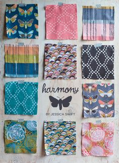 Harmony fabric collection // Jessica Swift for Blend Fabrics