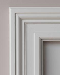 styles of furniture Door Frame Molding, Panel Moulding, Wall Molding, Moldings, Internal Door Frames, Internal Folding Doors, Front Wall Design, Window Design, House Pillars