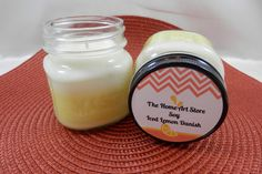 Iced Lemon Danish  Soy   Highly Scented by TheHomeArtStore on Etsy