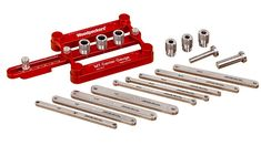 The MT Center Gauge and Doweling Jig are part of Woodpeckers OneTIME Tool program and are only made to order. Deadline to order yours is Monday, January 11, 2016. Once the deadline passes and orders are filled, these tools will be retired from our product line. Delivery is scheduled for June, 2016.