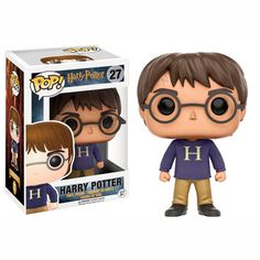 The hero of the Harry Potter film franchise arrives in pop vinyl form.With a likeness of Daniel Radcliffe as Harry Potter this Harry Potter Pop! Vinyl Figure stands approx 3 tall and comes boxed with a display window. Figurine Pop Harry Potter, Harry Potter Pop Figures, Harry Potter Pop Vinyl, Objet Harry Potter, Harry Potter Toys, Harry Potter Products, Pop Vinyl Figures, Funko Pop Figures, Collection Harry Potter