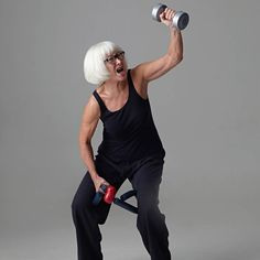#AgingPride shows images of old age that radiate strength, beauty, and joy: the power of life's later years.    Margot Pilz: Anti Aging, 2010. Photo: Daniela Beranek © Margot Pilz   17 November 2017 - 04 March 2018 at Lower Belvedere