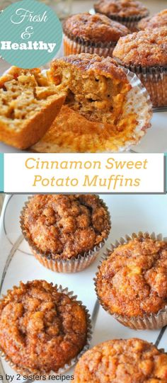 Cinnamon Sweet Potato Muffins by You can find Sweet potato recipes and more on our website.Cinnamon Sweet Potato Muffins by Sweet Potato Cinnamon, Sweet Potato Muffins, Mashed Sweet Potatoes, Sweet Potato Cakes, Sweet Potato Dessert, Sweet Potato Fritters, Sweet Potato Bread, Sweet Potato Breakfast, Breakfast Potatoes