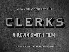 """Movie Titles - """"Clerks"""", via Flickr."""