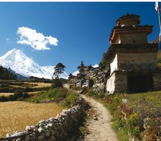 Trekking in the Kingdom of Mustang - Annapurna range in Nepal