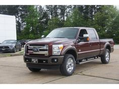 2015 F250 King Ranch Bronze Fire Metallic & Caribou with Adobe Interior