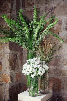 AD Inspiration | Rustic Chic | Boot Ranch, TX | Fresh white + green