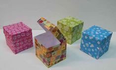 Cajas de regalo y moldes gratis