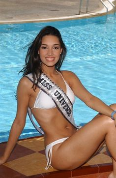 Miss Universe 2003, Amelia Vega from The Dominican Republic.