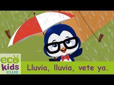 LLuvia, lluvia, vete ya de Mi EcoKids Club - Canciones Infantiles - YouTube