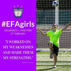 Are you following #EFAgirls Instagram page?  If not, do it now!>>> www.instagram.com/efagirls/ || Remember: Our GIRLS ONLY training sessions (U9-U17) will be on Saturdays in Hyde Park, starting on the 27th February. Tag all your girl friends & let them know about this exciting opportunity to experience EFA! To register and for further info, call 07428384583! ⚽️ #EFAgirls #YesIPlayFootball #WeAreEFA #ThisGirlCan #FootballGirls #SoccerGirls #LondonGirlsSports