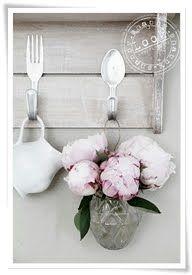 silverware as hanger hooks