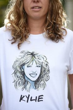 High Tees - Directory - The Make It Collective. When you wear a High Tees, you are not wearing any old t-shirt. You are wearing an Ode to your HERO. You are wearing your ICON, your  IDOL. #handmade #australianhandmade #handmadegifts #handmadefashion #kylieminogue